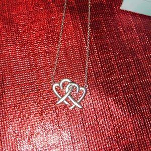 Loving heart tiffany necklace